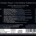 Alte Weihnachtslieder Neu_Christian Steyer & Der Berliner Solistenchor LIVE 2015