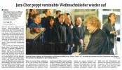 Jazz-Chor peppt verstaubte Weihnachtslieder wieder auf_Saechsische Zeitung