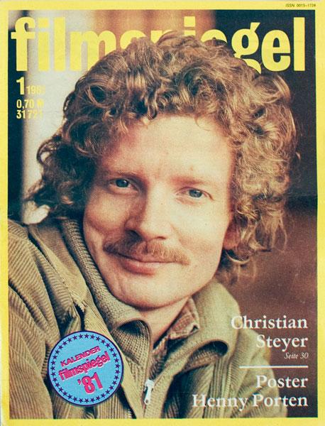 Zu viel und zu wenig über Christian Steyer_Filmspiegel